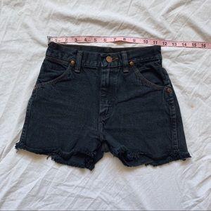 Wrangler Shorts - Vintage Wrangler high waist shorts